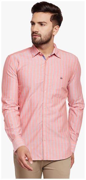 Crimsoune Club Men Slim Fit Casual shirt - Pink