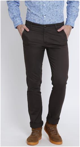 Men Slim Fit Trousers