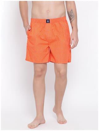 Crimsoune Club Orange Printed Men Boxer