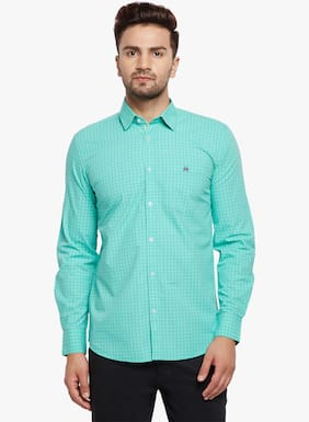 Crimsoune Club Men Slim Fit Casual shirt - Green