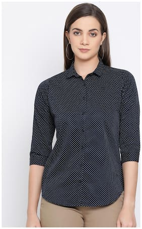 Women Slim Fit Casual Shirt