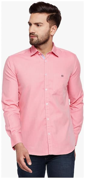 Crimsoune Club Men Slim Fit Casual shirt - Pink