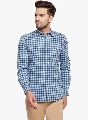 Crimsoune Club Men Slim Fit Casual shirt - Blue