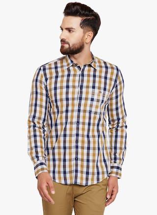 Crimsoune Club Men Slim Fit Casual shirt - Multi