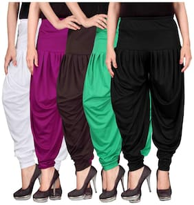 Culture the Dignity Lycra Dhoti - Multi