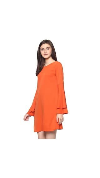 D'amor and Dress For Flare Women's Fit Orange Women's PPqx8BwC