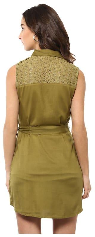 D'amor Shirt Green Shirt Green D'amor Women's Dress Shirt D'amor Dress Women's Women's qXtgFt