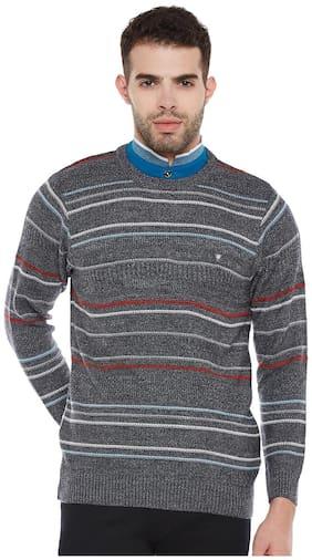 Men Polyester Full Sleeves Sweater