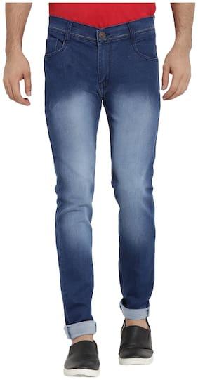 Dais Men Mid rise Skinny fit Jeans - Blue