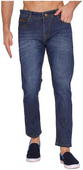Classic Denim Men Blue Slim Fit Jeans