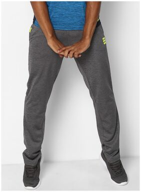 ROCK.IT Men Polyester Blend Track Pants - Grey