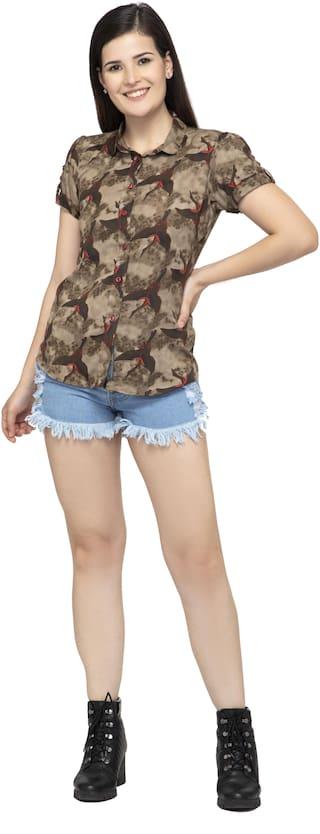 Dege Women Multi Printed Regular Fit Shirt