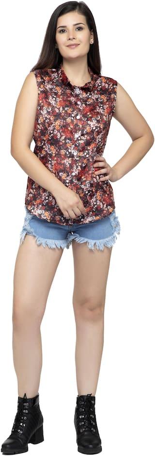 Dege Women Multi Floral Regular Fit Shirt