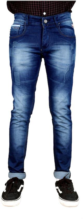 V POSH Men Blue Skinny Fit Jeans