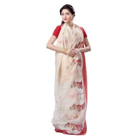 Khadi;Cotton Tant Saree