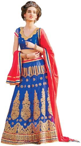 Net Wedding Lehnga Choli