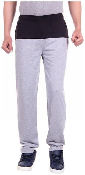 DFH Men Poly Cotton Track Pants - Multi