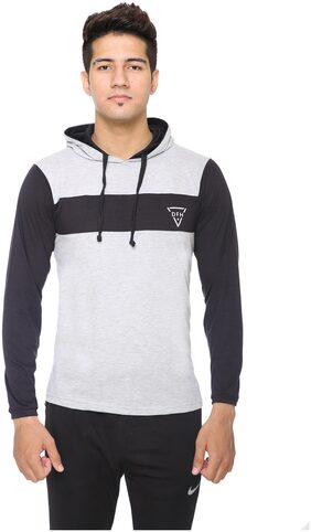 DFH MEN FULL SLEEVES HOODED T-SHIRT