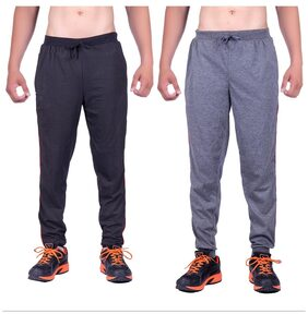 DFH Men Poly Cotton Track Pants - Multi