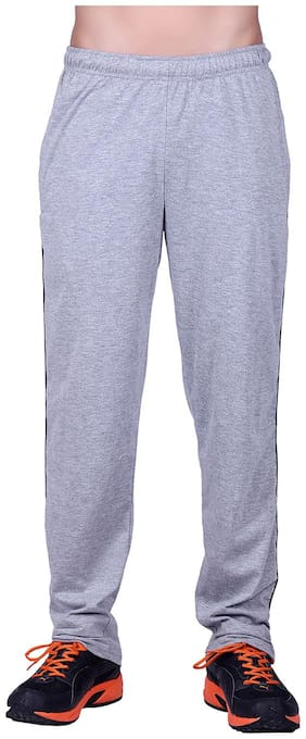 Regular Fit Poly Cotton Track Pants
