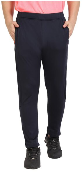 Dida Men Spandex Track Pants - Blue