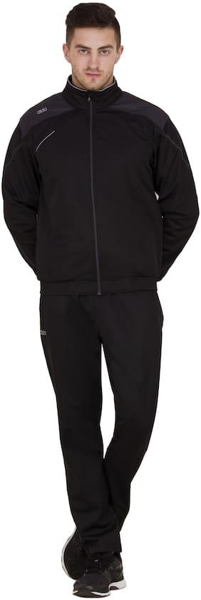 Dida Men Polyester Track Suit - Black