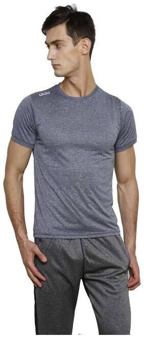 Dida Men Round neck Sports T-Shirt - Blue