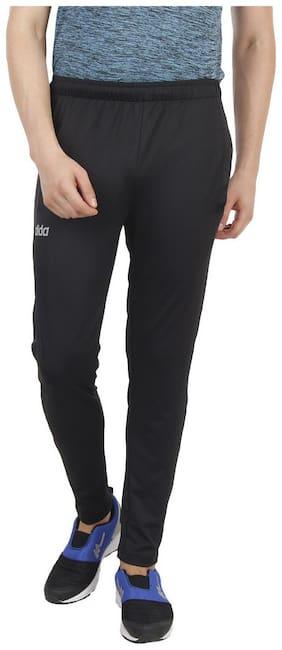 Dida Men Polyester blend Track Pants - Black