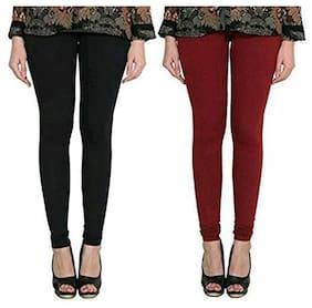 Digiom Women Full Length Solid Leggings