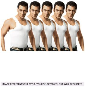 Dixcy Scott  Fine Cotton Vest Pack Of 5