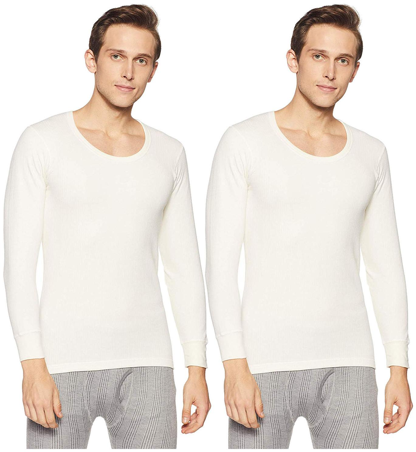 Men Cotton Thermal ,Pack Of 2