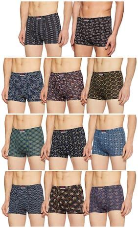 Men Cotton Printed Underwear ,Pack Of 11