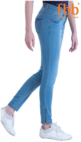 Jeans Low Blue amp;C Waist DJ B48q7