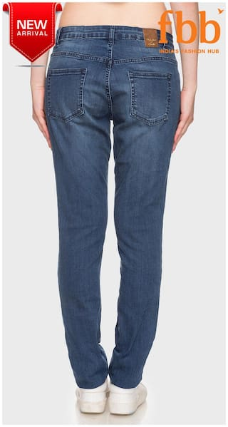 Fit Blue Skinny Distressed DJ Jeans Womens amp;C wRUpqp