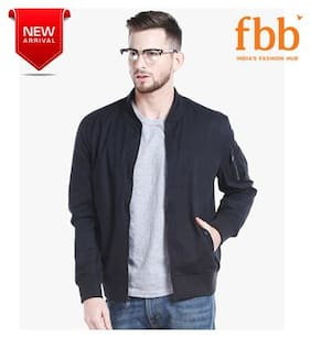 Men Blended Full Sleeves Jacket