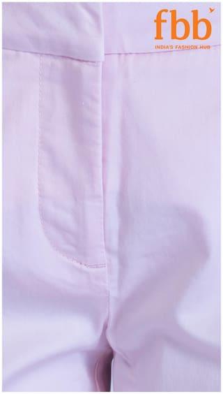 amp;C DJ Pink Solid Chino Pants fBFq0