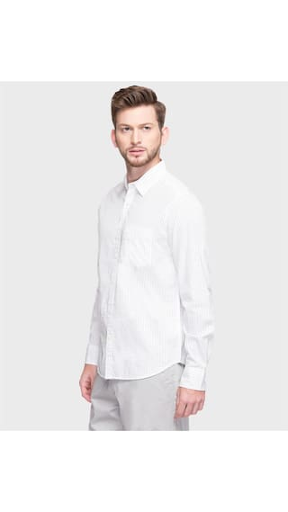 Casual C Fit amp Printed Regular DJ Shirt Cl6unnAh3