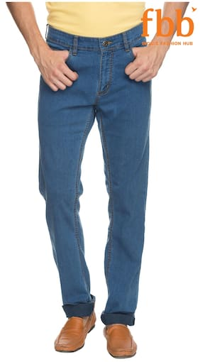ce768cb8beeaca DJ C Men s Mid Rise Slim Fit Jeans - Blue