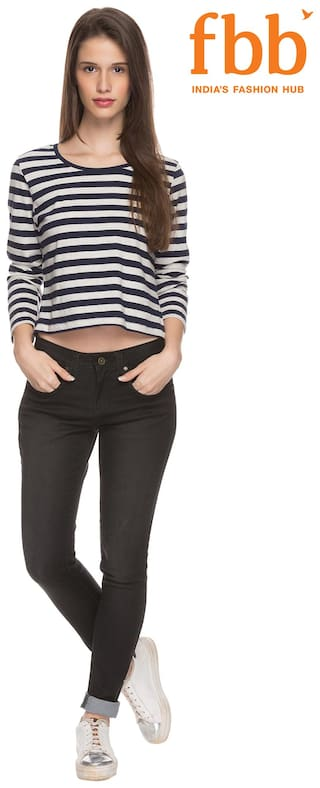 Women's Jeans Fit amp;C Slim Black DJ 4tZHq