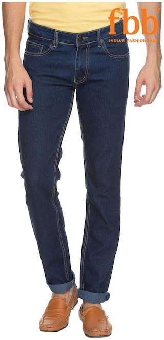 DJ&C Men Blue Slim Fit Jeans
