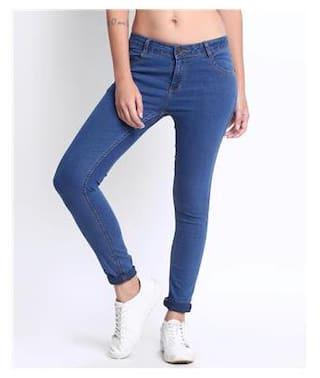 DJ &C Solid Skinny Fit Jeans
