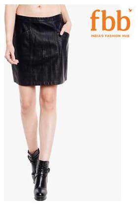 Women Solid Skirt