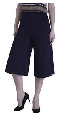 DJ&C Women Regular Fit Mid Rise Solid Pants - Blue