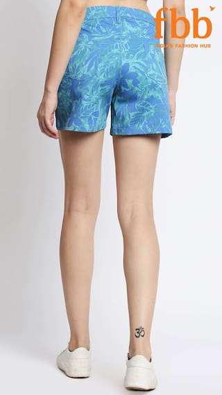 Shorts Tropical Womens Print Blue amp;C DJ BCnq44