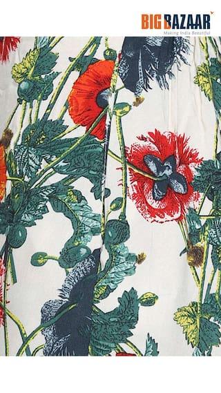 Print amp;C DJ Green Palazzos Womens Floral nI8wqawfY