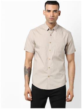 DNMX By Reliance Trends Men Regular Fit Casual shirt - Brown