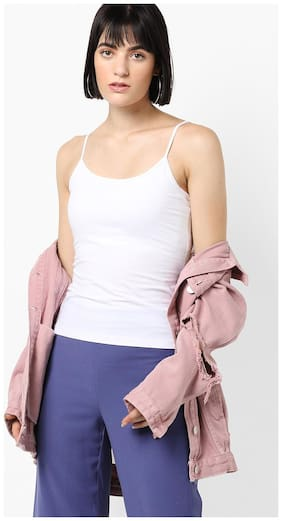 DNMX By Reliance Trends White Camisole