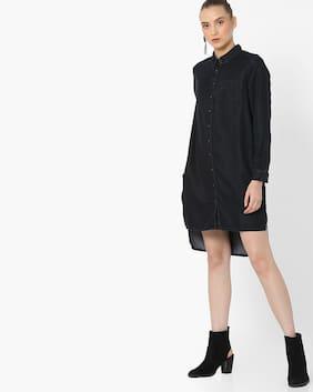 DNMX By Reliance Trends Women Black Dress