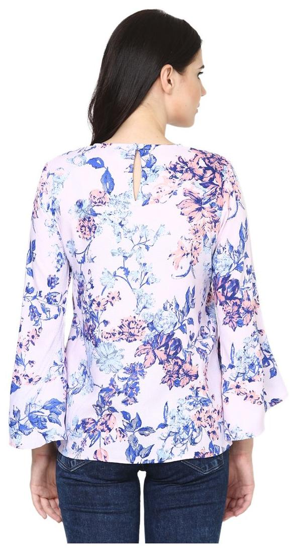 8a2e73fce82c7 Buy Dobby Bell-sleeve Printed Top Online at Low Prices in India -  Paytmmall.com