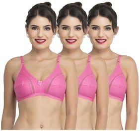 Docare 3 Non Padded Blended Backless Bra - Pink